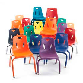 Jonti Craft® - Berries® - Plastic Classroom Stacking Chairs