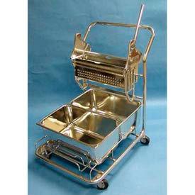 Geerpres® Stainless Steel Cleanroom Trolley
