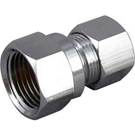 Lead Free Brass Straight Connectors