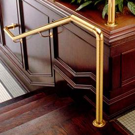 Brass Flush Railing Components