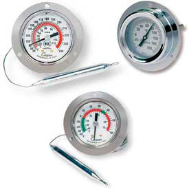 Wall Mount & Panel Storage Thermometers