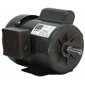 WEG Single Phase General Purpose Motors, Totally Enclosed & Open Drip Proof