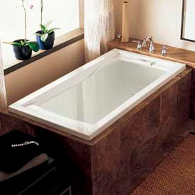 Standard Style Soaking Bathtubs