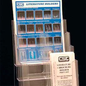Clip Strip - Plastic Brochure & Literature Holders