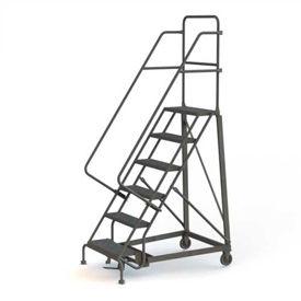 Heavy Duty 600 Lb. Capacity Steel Rolling Ladders