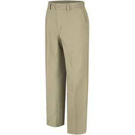 Wrangler® Canvas Plain Front Work Pants
