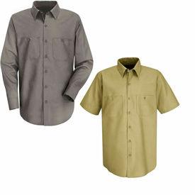 Red Kap® Cotton Work Shirts
