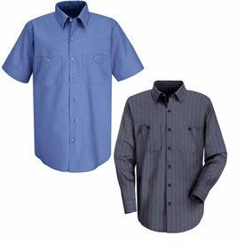 Red Kap® Industrial Stripe Work Shirts