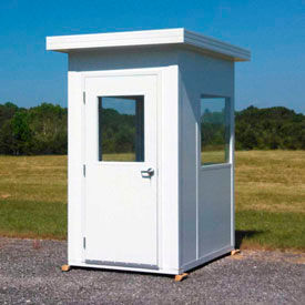 Panel Built Outdoor Guard Booth