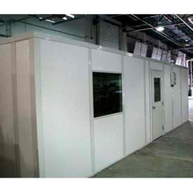 Ebtech Prefabricated Modular Inplant Offices – Premier Vinyl Clad, Class A Fire & 32 STC Rated (Aluminum Frame)