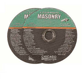 Cut-Off Wheels - For Masonry