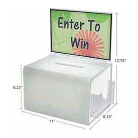 Azar Displays - Acrylic Promotional Boxes