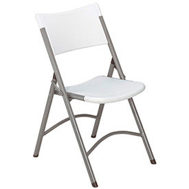 Interion® Plastic & Resin Folding Chairs