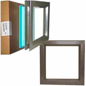 Activar Vision Lites - Steel For Interior, Galvanized And Stainless For Exterior
