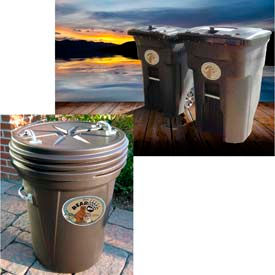 Animal Resistant, Bear Proof Trash Cans At Global Industrial