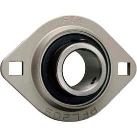 FYH LD Set Screw 2-Bolt Flange Mounted