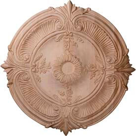 Ekena Ceiling Medallions - Wood, Cherry, Maple & Red Oak