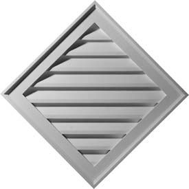 Ekena Diamond & Eyebrow Gable Vent Louvers