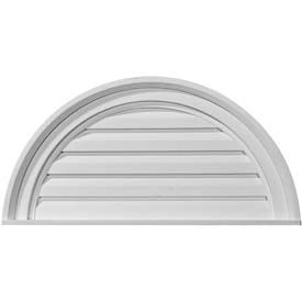 Ekena Gable Vents & Louvers - Round & Oval