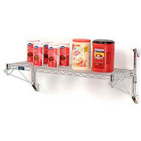 Wall Mount Adjustable Wire Shelving Units-One Shelf 14