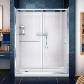 Dreamline™ Shower Door, Base & Wall Kit