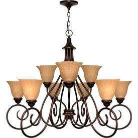Nuvo Lighting Transitional Chandeliers