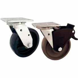 RWM 46 Series Medium Heavy Duty Industrial Swivel Plate Casters