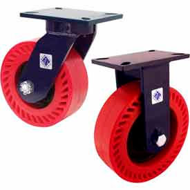 RWM 76 Series Heavy Duty Kingpinless™ Casters - up to 7000 Lb. Capacity