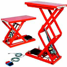 Hydraulic Scissor Lift Tables Electric Amp Air Powered Lift