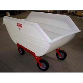 Poly-Tuf® Tapered Polyethylene Tilt Carts