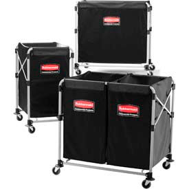Rubbermaid® X-Cart Collapsible Bulk Trucks
