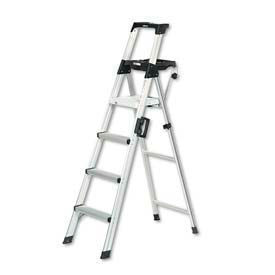 Lightweight Aluminum Folding Step Ladders