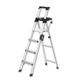 Lightweight Aluminum Folding Step Ladders