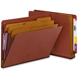 Pressboard End Tab Classification Folders