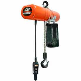 CM® Columbus McKinnon Lodestar NH Series Electric Chain Hoists
