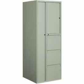 Global Industries 9300P Series Personal Storage Tower - 60 lb Shelf Capacity