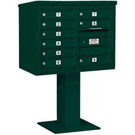 Salsbury 3400 Series 4C Horizontal Double Column Pedestal Mailboxes Without Parcel Lockers