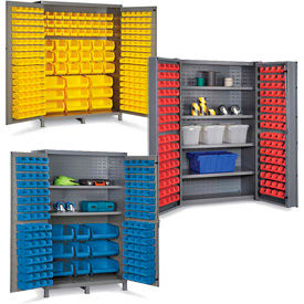All-Welded 16 Gauge Bin Cabinets