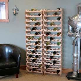 Wooden Mallet - Dakota™ Open Top Wine Racks