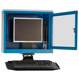 Wall-Mount Computer Cabinets  sc 1 st  Global Industrial & Computer Furniture | Computer Cabinets | Wall-Mount Computer ...