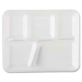 Genpak® Foam School Trays