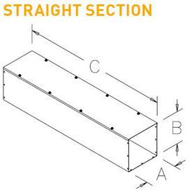Hoffman Straight Section Wireways