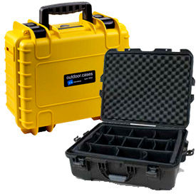 Foamed And Padded Waterproof Instrument Cases