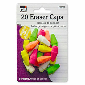 Block and Pencil Top Erasers