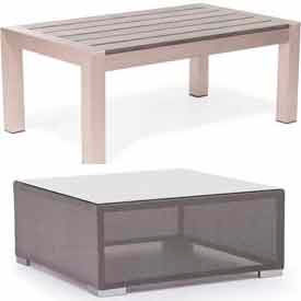 Outdoor Aluminum Accent Tables