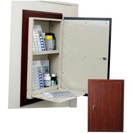 Harloff Wooden Laminate In Room Resident Medication Cabinets