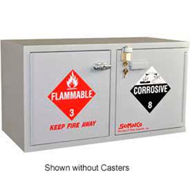 SciMatCo Metal-Free Plywood Mobile Acid Corrosive Cabinets