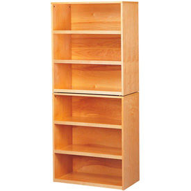 SciMatCo Metal-Free Natural Wood Shelving Cabinets
