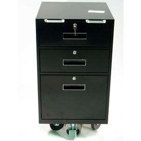 Fenco Mobile Teller Pedestal Cabinet & Teller Vault/Note Buses