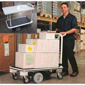Electro Kinetic Technologies Pony Express Motorized Platform & Shelving Carts